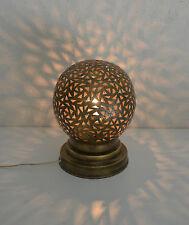 lampe de chevet Marocaine laiton lanterne m1 photophore décoration bougeoir