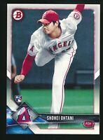 2018 Bowman Shohei Ohtani Rookie Card RC #49 Los Angeles Angels Baseball Topps