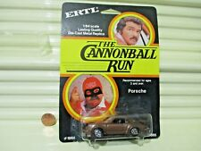 Ertl #1868 1981 CANNONBALL RUN PORSCHE 930 TURBO Car Nu in Near Mint BubblePack