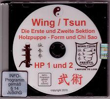 DVD  Wing Tsun 1. und 2. Sektion Holzpuppe Form und Chi Sao Muk Yan Jong