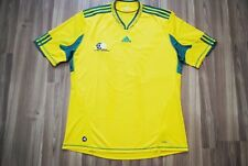 SOUTH AFRICA NATIONAL TEAM 2010-2011-2012 HOME FOOTBALL SHIRT JERSEY XL ADIDAS