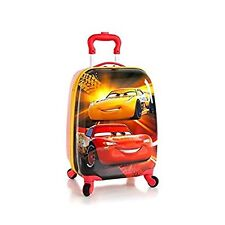 New Heys Disney Kids 18 Inch Carry-on Spinner Luggage - Cars