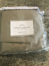 Pottery Barn Universal Outdoor Bistro Chair Cover Khaki NEW