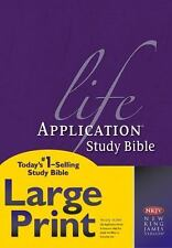 Life Application Study Bible-NKJV-Large Print (Hardback or Cased Book)
