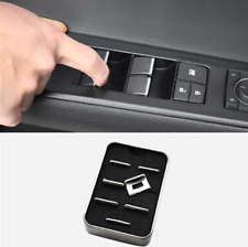 2019 For Lexus UX200 260h ABS Chrome Inner Window lift switch button sequin Trim
