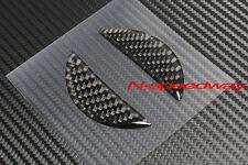 For Nissan 350Z Z33 370Z Z34 Carbon Fiber Front Emblem Logo Insert Decal Insert