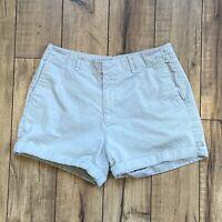 Vintage Women's Calvin Klein Jeans Cuffed Shorts Mid Waist Size 8