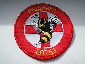 Aufnäher  des  LTG  63  Fliegerarzt  ca 10 cm