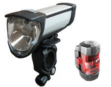 Busch und Müller IXON Core LED Scheinwerfer set Rücklicht IXXI 180L/383 Fahrrad