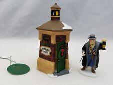 Dept. 56 Heritage Village Brixton Road Watchman Accessory 2 Pc. Set 58390