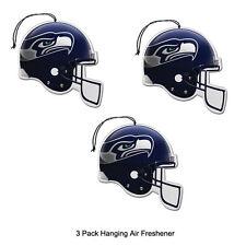 New Team ProMark NFL Seattle Seahawks Long Lasting Scent Air Freshener 3 Pack
