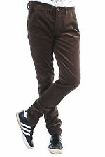 New Mens Slim Fit Stretch Corduroys Cords Trousers Cotton Rich Ex-Chainstore EC1