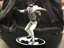 BATMAN BLACK & WHITE STATUE ROBIN BY INFANTINO NEW IN BOX