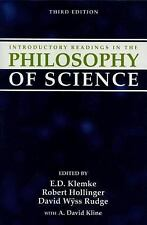 Introductory Readings in the Philosophy of Science by E. D. Klemke (1998,...
