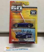 Aston Martin Dbs Volante #12 * Blue * Matchbox 60th Ann. * K6