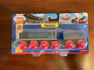 2014 Fisher Price Thomas Train Wooden Frieda! NEW!