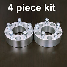 "4pc 1.5"" Wheel Adapters Spacers - 5x135 to 5x4.5 (5x114.3) - 14x2 Coarse Studs"