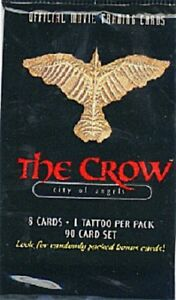 The Crow City Of Angels full pack with 8 movie photo cards 1 tattoo FREE SHIP
