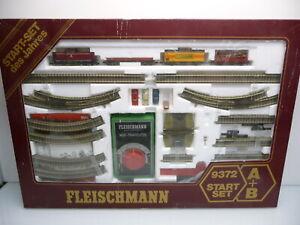 9372 Startset Güterzug mit Trafo der DB Ep. IV Fleischmann N 1:160 TOP mit OVP