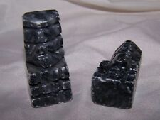 """Marble Chess Piece Bishop Black one Replacement Chessmen 2"""""""