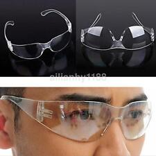 Clear Safety Eyes Protective Goggles Glasses Anti-fog Dust Lab Medical Eyewear A