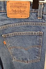 Vintage Levis 20517-0217 Orange Tab 100% Cotton Straight Leg 33 x 31 USA Faded