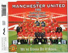 "MANCHESTER UNITED 1995 - 5"" CD - Wer'e Gonna Do It Again (3 tracks) Polygram"