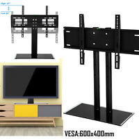 Universal Table Top TV Stand Base Bracket Mount for 30-65 inch Flat-Screen LCD