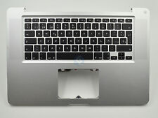 """Grade B Top Case Spanish Keyboard No Trackpad for Macbook Pro 15"""" A1286 2011"""