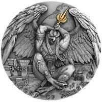 HORUS Gods of Anger 2 Oz Silver Ultra High Relief Coin Niue 2020