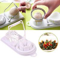 Boiled Egg Slicer Cutter Mushroom Tomato Kitchen Chopper Gadget Separator Tool