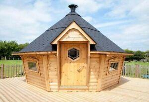 Bbq hut cabin