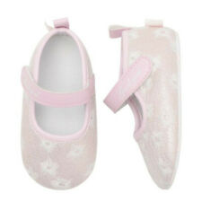 Infant Toddler Kid Baby Girl Embroidered Anti-slip Shoes Newborn Walking Shoes