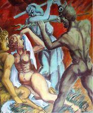 Peintures du XXe siècle et contemporaines huile sur toile religion, mythologie