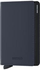 Secrid - Slimwallet Matte - dunkelblau - NEU & OVP ( C-Black )