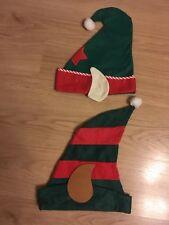 2 X ELFS CHRISTMAS HATS