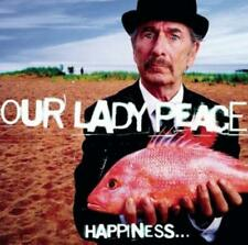 New listing OUR LADY PEACE: HAPPINESS IS NOT A FISH THAT YOU CAN CAT (LP vinyl *BRAND NEW*.)