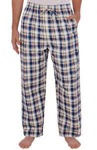 NWT Alexander Del Rossa Mens 100% Cotton Sleep and Lounge Pants
