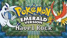 Pokemon E/S/R FR/LG ALL GBA EVENTS Mystic TicketAurora Ticket Old Sea Map EON