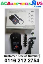 USA 3V/4.5V/5V/6V/7.5V/9V/12V 30W UNIVERSAL AC-DC adaptador fuente de alimentación + 6 Puntas