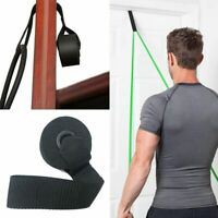 1-4X Exercise Yoga Over Door Anchor For Resistance Bands Elastic Band Tube Home