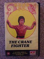 The Crane Fighter RARE VHS Rental Box Version