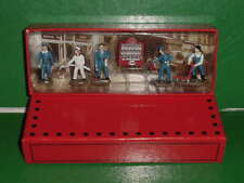 COFFRET FIGURINES POUR DIORAMA GARAGE STATION SERVICE ech 1/43 0 ATLAS