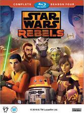 Star Wars Rebels: 4th Fourth Season 4 Four - New Blu-ray PRE-ORDER SHIPS 8/2