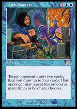 X4 Trade Secrets -LP- Onslaught Blue Rare MTG Magic Cards
