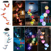21Styles LED Wind Chime Solar Powerd Light Color-Changing Home Yard Garden Decor