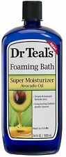 Dr Teal's Foaming Bath Super Moisturizer with Avocado Oil 34 oz (Pack of 2)