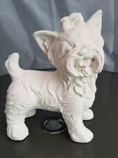 RUBBER AND FIBREGLASS MOULD YORKSHIRE TERRIER YORK STANDING ORNAMENT MOULD -650