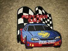 Boy Scout BSA 2006 Sale NASCAR 2007 Trails End Popcorn Uniform Award Patch