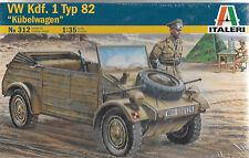 Kubelwagen Italeri German Car WWII 1:35 Scale model kit 312 Africa  NEW Sealed